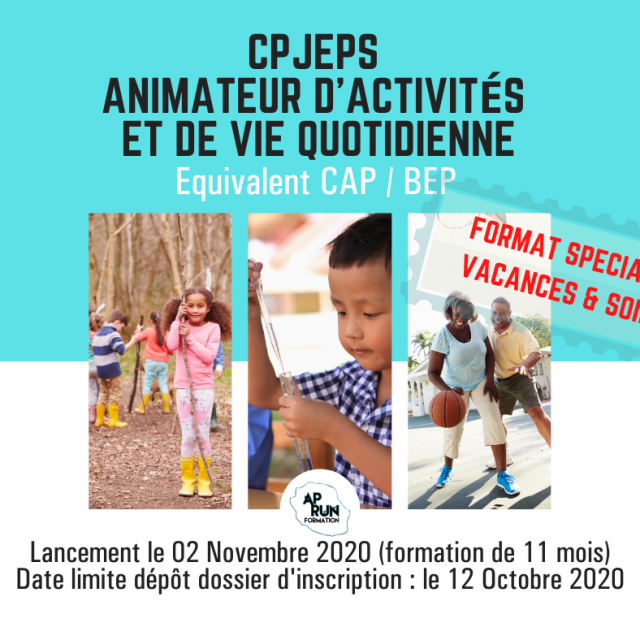 CPJEPS AAVQ – Nouveau Format