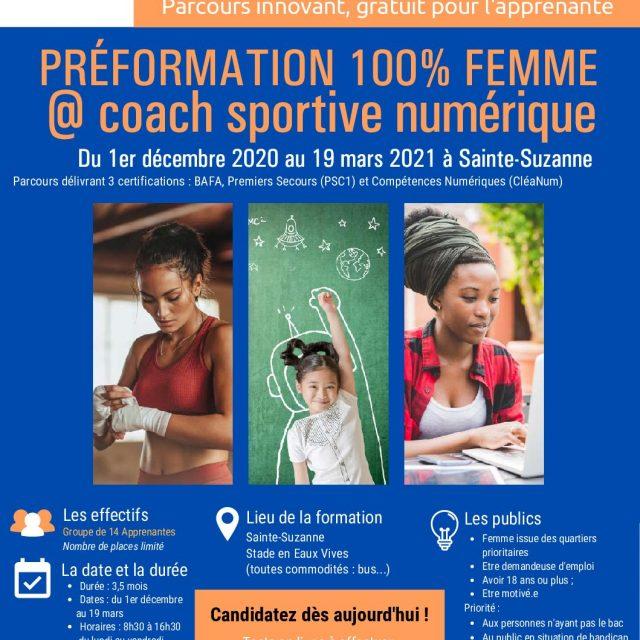 Préfo Coach 100% femme