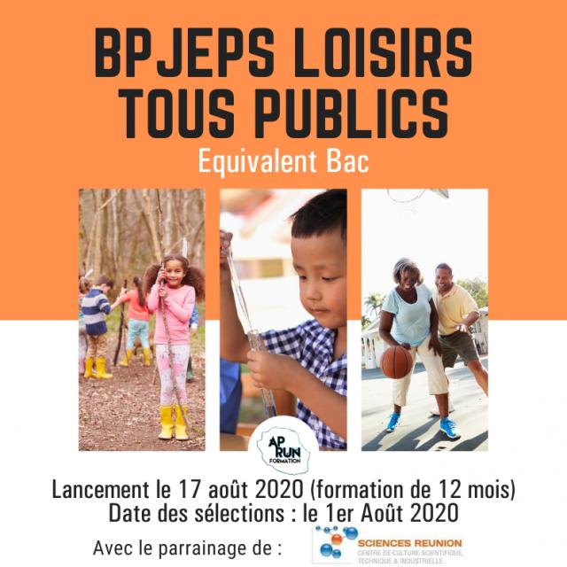 BPJEPS LTP – AOUT 2020